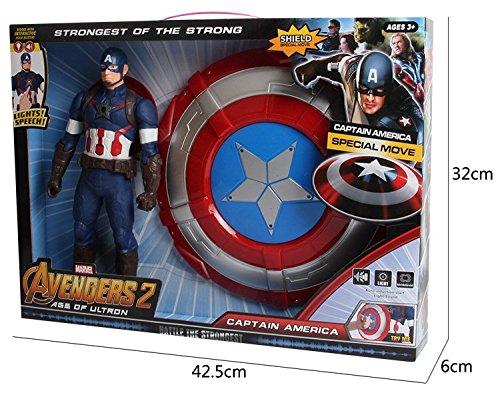 The Avengers Captain Super Hero Movie Model Action Figures Captain America Shield