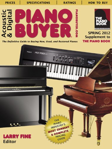Acoustic & Digital Piano Buyer: Supplement to The Piano Book, Spring 2012
