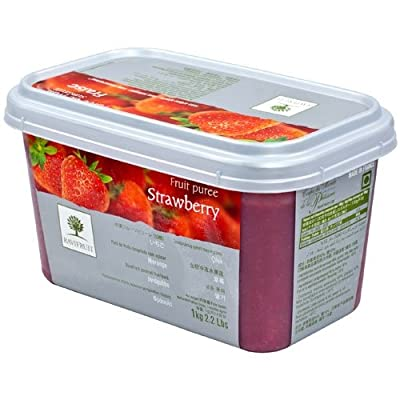 Strawberry Puree - 1 tub - 2.2 lbs from Ravifruit