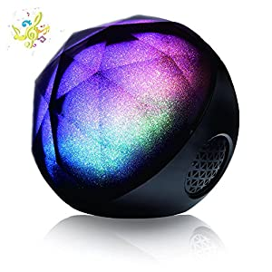 [New Release]VersionTech MagicBox Bluetooth Portable Wireless Speaker, Bluetooth Speaker with Enhanced Bass and Multifunctional Remote for Phone, TV, DJ, Car