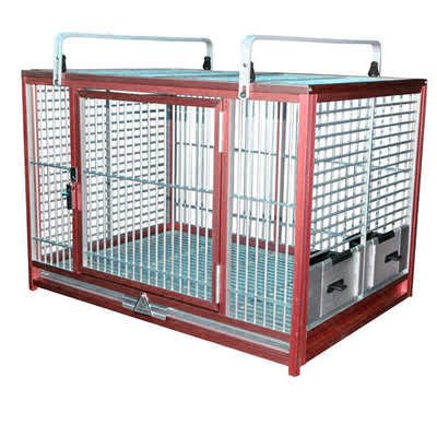 LARGE ALUMINIUM PARROT TRAVEL CARRIERS CAGE ATM 2029 bird cages (RED)