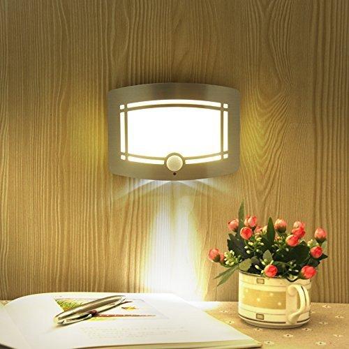 KAPATA センサーライト 壁掛けライト 自動点灯 モーションセンサー LEDライト 電球色 玄関ライト ポーチライト イルミネーション