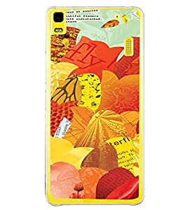 ifasho Animated Pattern colrful paper cuttings Back Case Cover for Lenovo K3 Note