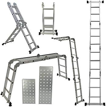 Arksen 12.5-Foot Multi-Task Folding Ladder Platform