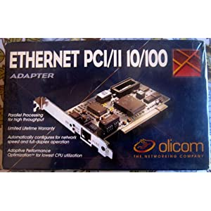 Ethernet Adapter  on Amazon Com  Ethernet Pci 11 10 100 Adapter  Computers   Accessories