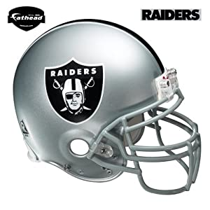 Oakland Raiders Helmet Wall Decal by Fathead