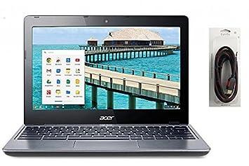 Acer C720 11.6-Inch Chromebook (Intel Core i3, 4 GB,32GB) Granite Gray(US Version, Importe)