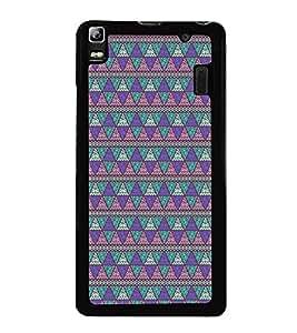 Colourful Pattern 2D Hard Polycarbonate Designer Back Case Cover for Lenovo A7000 :: Lenovo A7000 Plus :: Lenovo K3 Note