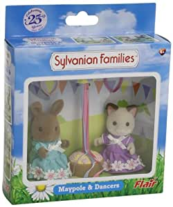 Sylvanian Families Maypole Dancers with Maypole