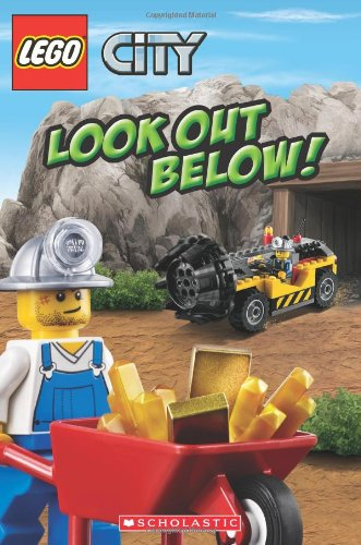 Lego City: Look Out Below! (Scholastic Readers: Lego)
