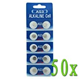GTMax 500 AG3/LR41 Alkaline Button Cell Battery