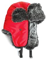 City Hunter W200n Original Solid Trapper Ski Hat (Navy)