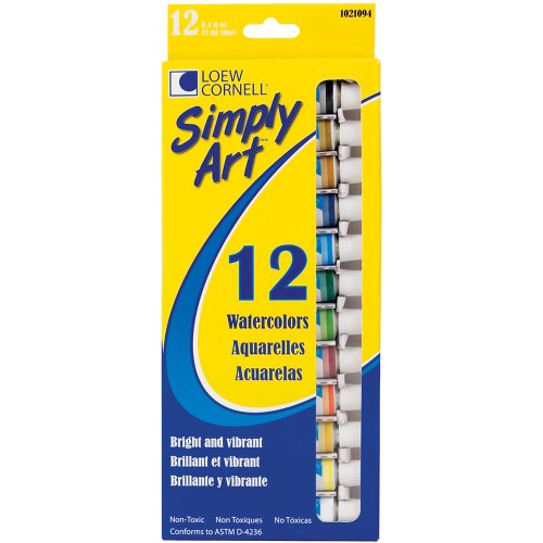 Loew Cornell 1021094 Simply Art Watercolor Paint front-1043192
