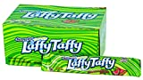 Wonka Laffy Taffy Watermelon Sandia Stretch & Tangy Candy Dulce: 18 Bars of 1.5 Oz