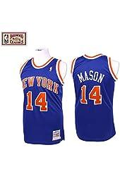 Anthony Mason Knicks 1991 Mitchell & Ness Jersey