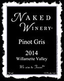 "2014 Naked Winery ""Naked"" Willamette Valley, Oregon Pinot Gris 750 mL"