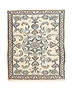 QURAMA Alfombra Persian Nain Beige/Multicolor 138 x 87 cm