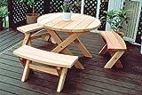 東洋エクステリア ガーデンファニチャー スナッフィー 丸テーブル L
