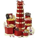 Broadway Basketeers Seasons Greetings Gift Tower