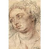 Art Panel - Head Of A Woman [3] By Rubens