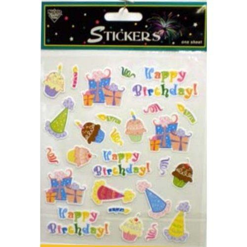 78 Happy Birthday Stickers