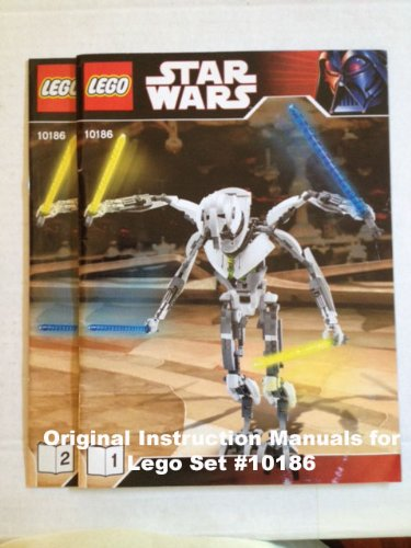 Instruction Manuals For Lego Star Wars Set 10143 Death Star Ii