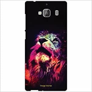 Design Worlds Back Cover Redmi 2 Prime - Phone Cover Multicolor