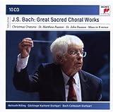 echange, troc  - Bach : Grandes oeuvres chorales sacrées(Coffret 10 CD)