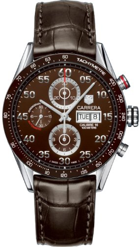 TAG Heuer TAG Heuer Men's CV2A12.FC6236 Carrera Day Date Automatic Chronograph Watch