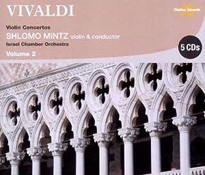 Vivaldi : Concertos pour violon, vol. 2. Mintz.