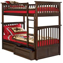 Hot Sale Atlantic Furniture AB55224 Columbia Bunk Kids Bed