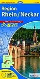 ADFC-Regionalkarte Region Rhein/Neckar mit Tagestouren-Vorschlägen, 1:75.000, reiß- und wetterfest, GPS-Tracks Download (ADFC-Regionalkarte 1:75000)
