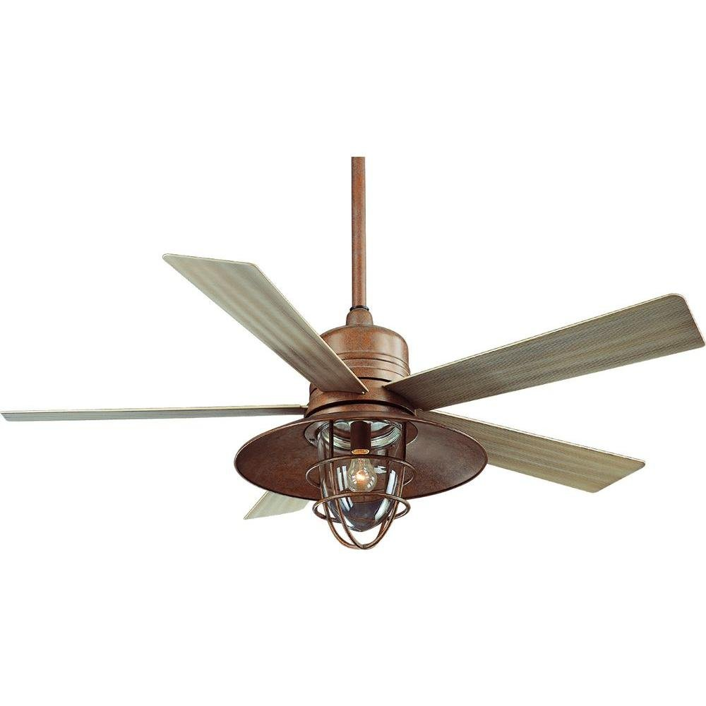 Hampton Bay Metro 54 In. Indoor/outdoor Rustic Copper Ceiling Fan 0