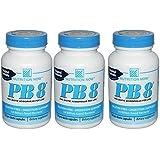 Nutrition Now - Pb 8 Pro-biotic Acidophilus - 120 Capsules (Pack of 3)