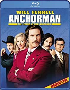 Anchorman: The Legend of Ron Burgundy (Unrated) [Blu-ray]