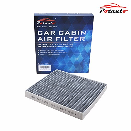 POTAUTO MAP 1039C Heavy Activated Carbon Car Cabin Air Filter Replacement compatible with CHRYSLER, DODGE, JEEP