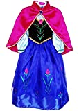 JerrisApparel Snow Queen Elsa Party Dress Costume Princess Cosplay Dress Up