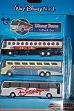 Disney 3 Pack Diecast Buses - Disney's Magical Express / Cruise Line / Disney Transport