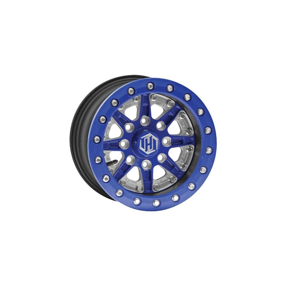 Hiper Wheel Sidewinder 2 Wheels   14x7   5+2 Offset   4/136,4/137   Blue , Position Front/Rear, Wheel Rim Size 14x7, Rim Offset 5+2, Bolt Pattern 4/136,4/137, Color Blue 1470 KCABL 52 DBL BL