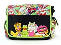 Disney The Muppets Kermit/Ms. Piggy/Animal/Fozzie Messenger Bag-Tote-School from KDJ