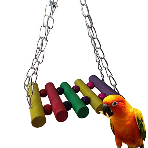 Colorful-Swing-Perch-For-Bird-Parrot-Cage-Toy-Parakeet-Cockatiel-Finch-Lovebird-Budgie-Conure-African-grey-Hamster-Gerbil-Rat-Exercise-Toy