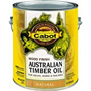 Valspar 140.0019400.007 Water Reducible Australian Timber Oil Exterior Oil Finish