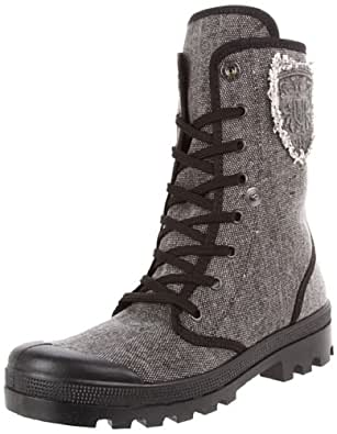 ILSE JACOBSEN Women's Terra 21 Boot,Black,37 EU/7 M US