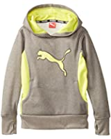 PUMA Girls' Cat Hoodie with Thumb Hole