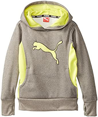 Puma Girls Cat Hoodie With Thumb Hole