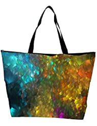 Snoogg Abstract Artistic Backdrop Designer Waterproof Bag Made Of High Strength Nylon