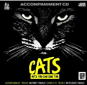 Sing The Broadway Musical CATS (Accompaniment 2-CD Set)