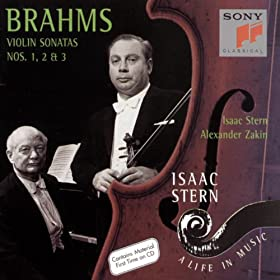 Brahms: Three Sonatas for Violin and Piano