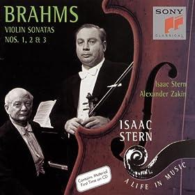 Brahms: Three Sonatas for Violin and Piano