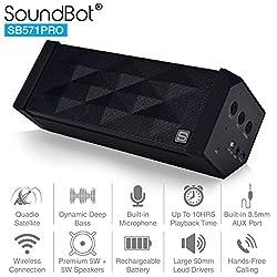 Soundbot SB571PRO Bluetooth Speakers (Black)